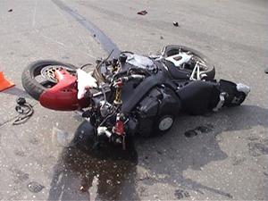 Под Киевом 20-летний мотоциклист сломал себе позвоночник