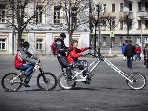Первого мая ярославские велосипедисты будут качать права  2496628
