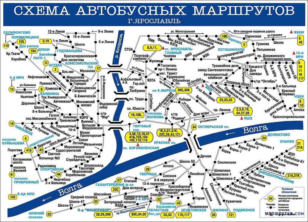 Ярославль Гл.АС — Тутаев АВ